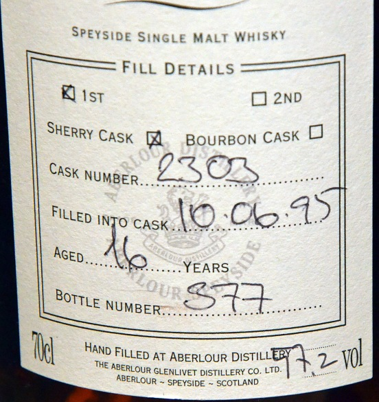 Single Cask Aberlour © Caroline Hampden-White