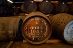 A cask filled in 1959 lie at the Glenfiddich distillery