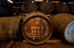 A cask filled in 1959 lie at the Glenfiddich distillery