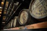 1/4 cask carrels lie at the Glenglassaugh Distillery