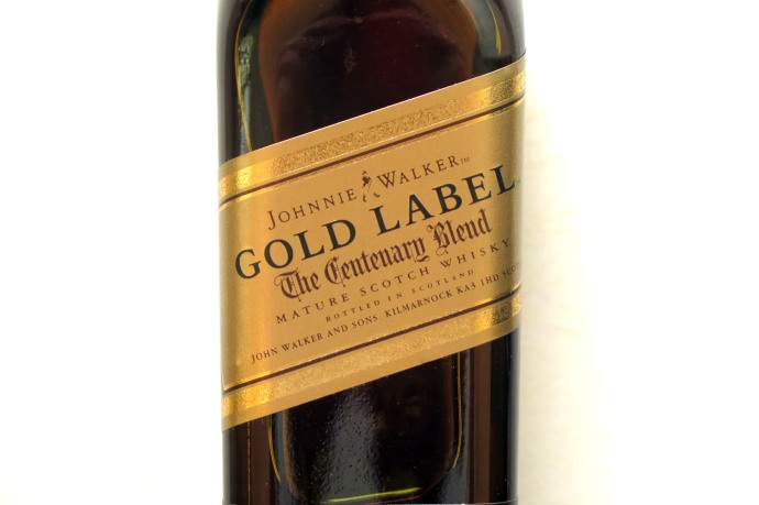Johnny Walker Gold Label © Caroline Hampden-White