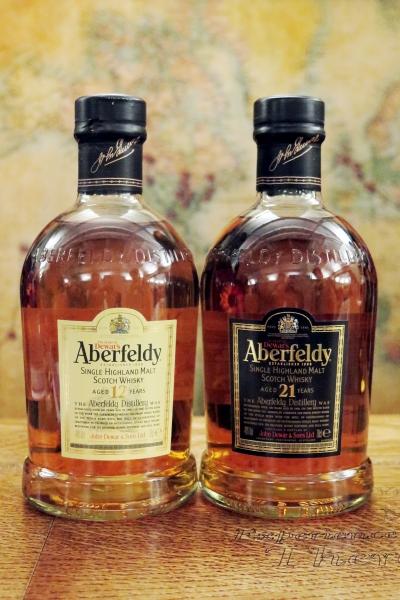 Aberfeldy 12 and 21